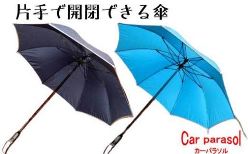 【操作はボタンを押すだけ!】片手でたためる傘