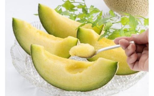 旬の味😋果実の王様アールスメロン🍈🥄