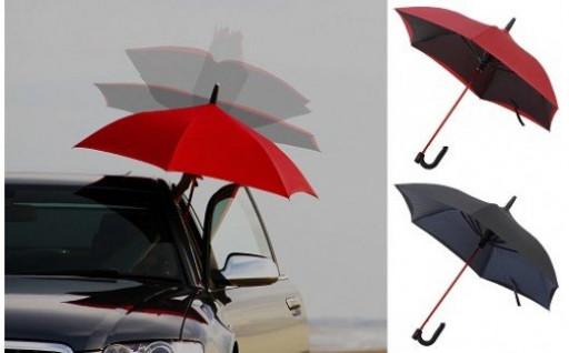 雨の日にオススメ。逆に開く傘