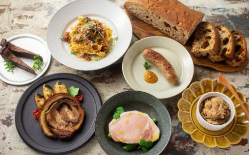 イタリア料理コントルノ食堂のフルコース