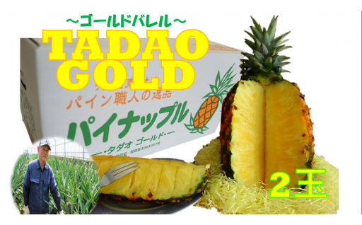 【TADAO GOLD】2玉 3.5㎏