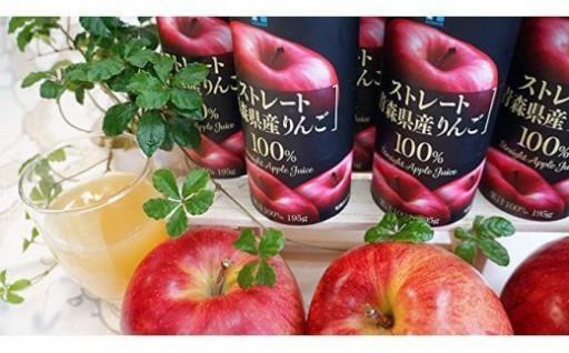 【秋の行楽に】りんご100%のストレートジュース