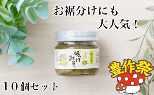 年中楽しめる春の味わい 西和賀の「ばっけ味噌」