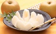 中村さんが作った「朝もぎ梨」5kg