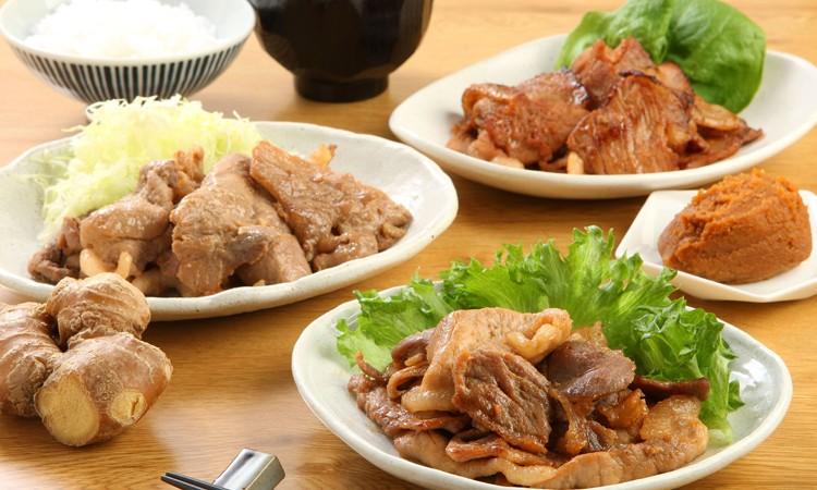A-0114_圧巻!宮崎県産黒豚の味くらべセット