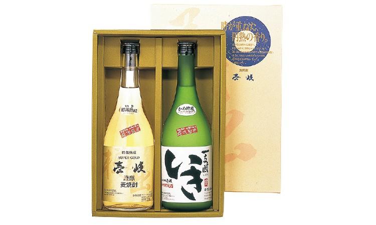 長崎県壱岐市返礼品麦焼酎発祥の地からの贈り物