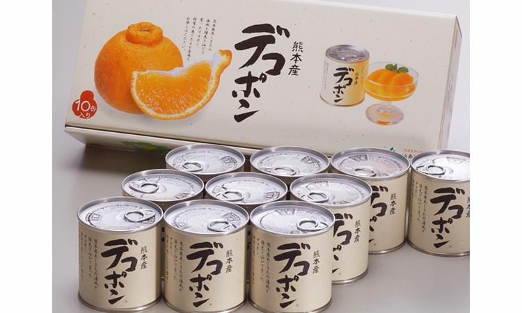 №17-10デコポン缶詰(10缶入)