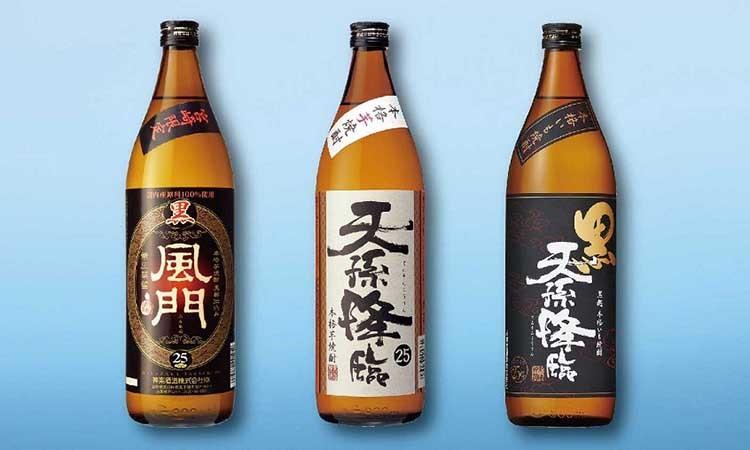 C-15 神楽酒造 芋焼酎3本飲み比べセット