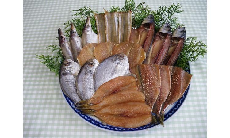 No.055 南知多伊勢湾でとれた魚の干物詰合せ / 旬の魚 セット 愛知県 人気