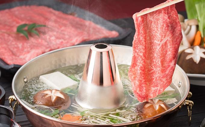 [№5900-0147]近江牛霜降り肉(すきしゃぶ)900g
