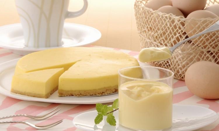 29.名古屋コーチン卵の半熟なめらかプリン&クリームチーズケーキ