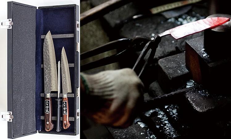 [絆-3] 匠の技で研ぎ澄まされた 島原手打ち刃物セット