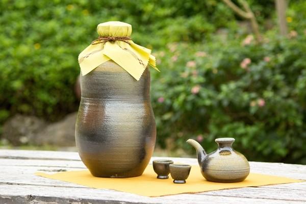 my古酒づくりセット 1升甕(カラカラとおちょこ2個付き)