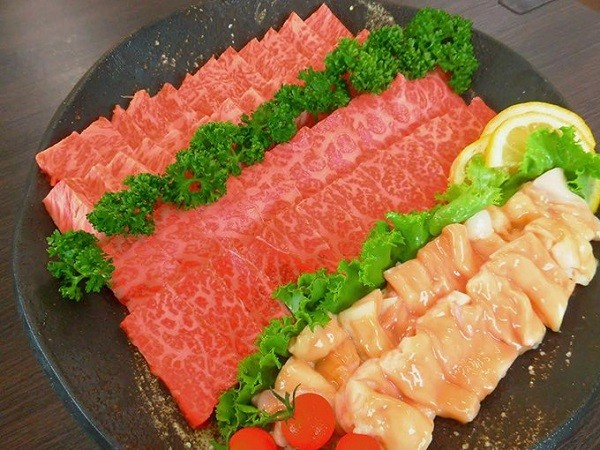 A-⑥ 鹿児島県産黒毛和牛焼肉セット(600g)