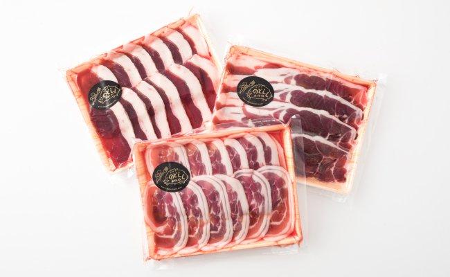 [B010] のとしし(イノシシ)肉スライス 750g