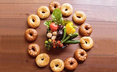 1度食べたらトリコ♪「わっぱ堂」の国産小麦100%!!ふわもちベーグルセット H049-001