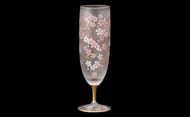 石塚硝子製ビアグラス(SAKURA BEER)