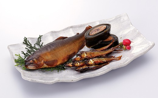 ◆㈲魚岩安曇川店 湖魚佃煮詰合せ