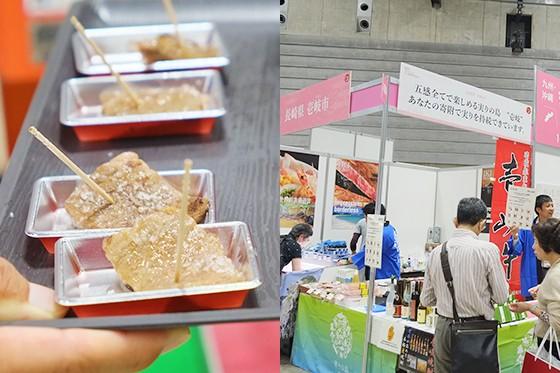 試食が始まる前から行列が絶えなかった長崎県壱岐市