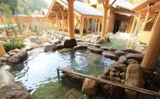 (100,000pt)入鹿温泉ホテル瀞流荘一泊二食(ペア)