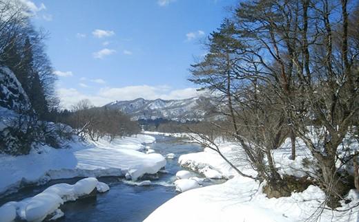 岩手県和賀岳の伏流水を使用