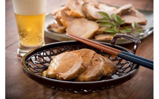[A-2801] 年末しか販売しない 地元でも評判の「幻の焼豚」 600g ~福井県産豚肉使用~