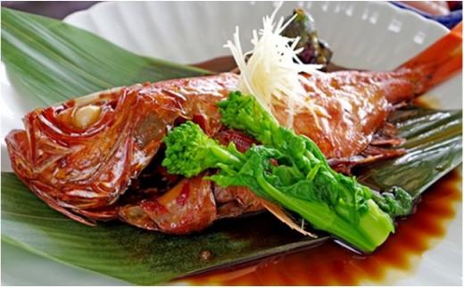 金目鯛の姿煮(国産) 2匹[№5651-0615]