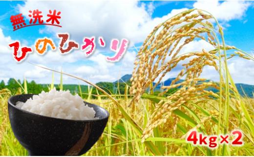 AZ8 無洗米 ヒノヒカリ 8kg