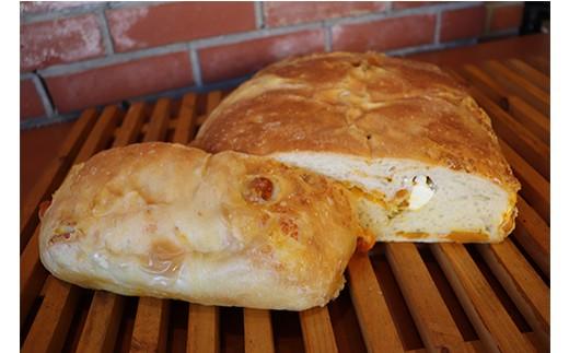 ドンっとまるごと天然酵母フォカッチャpartypan(ホクホク南瓜クリームチーズ)