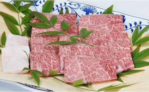 E-49  【熟成肉】佐賀県産黒毛和牛 牛肩ロース 焼肉用 500g