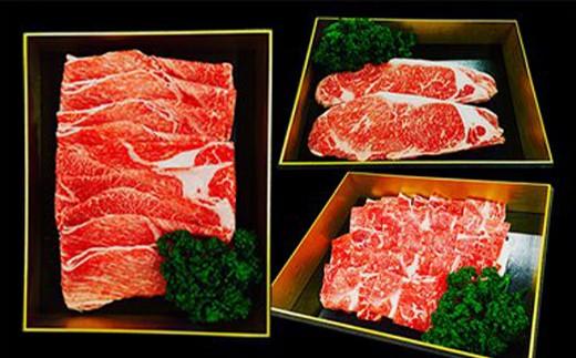 熊本県産 赤牛 大満足セット 合計1.16kg(サーロイン、ロースなど)