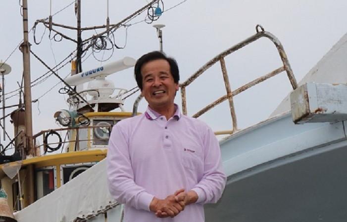 玄界灘の荒波に揉まれた天然のトラフグは、最高の味覚 ― 鐘崎フグ延縄船団 船団長 田島 誠さん