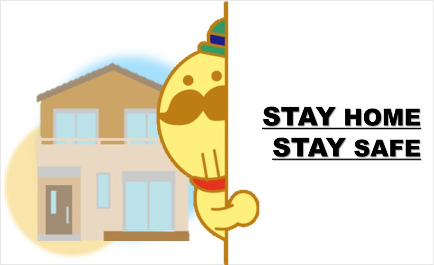 STAY HOME STAY SAFE !