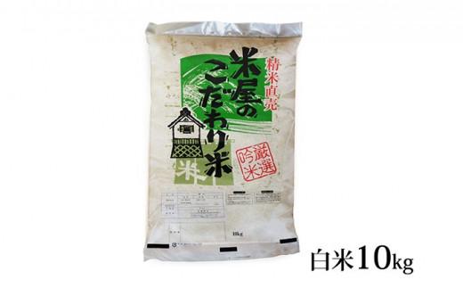 [№5605-0317]【先行受付】令和2年産『米屋のこだわり米』あきたこまち 白米 10kg <秋田県男鹿市>