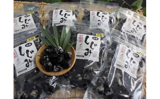 【新型コロナ対策】支援20-2 東郷湖冷凍しじみ(大粒) 3.5kg