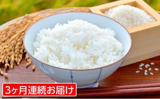 FY18-411【3ヶ月連続】 山形米 (つや姫)5kg (+醤油付き)×3回