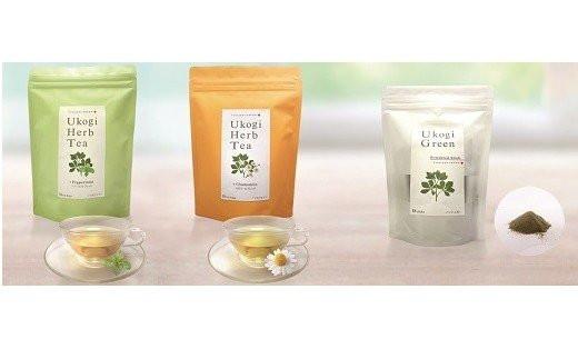 037-002 からだスッキリ!Ukogi Tea 3種セット