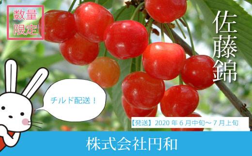 No.0225 先行予約/ さくらんぼ日和 赤い宝石の愛しい果実  さくらんぼ/佐藤錦(500g箱/バラ)