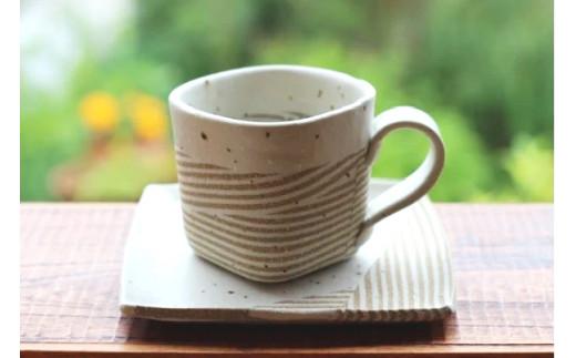 コーヒーカップ&ソーサーのセット【B83】