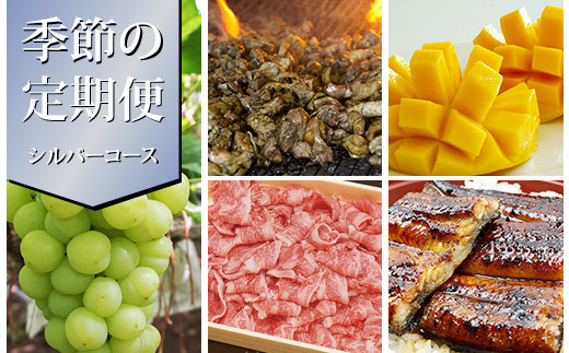 【季節の定期便】西都まるごと堪能セット シルバーコース<20-5>