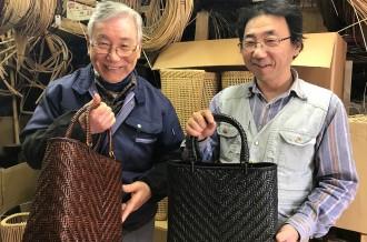 籐職人の匠の技と経験が詰まった籐製品