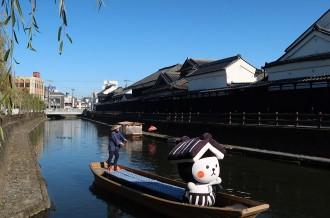 つぶらな瞳で栃木市をPR!蔵の妖精とち介