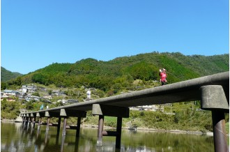 沈下橋修復の状況
