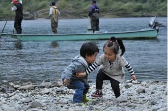 四万十川の恵み~川から海へ