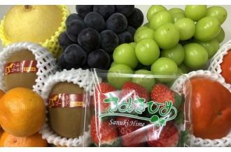 旬のフルーツ満載! 瀬戸内の温暖な気候の中で育まれた新鮮果物