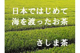 日本ではじめて海を渡ったお茶「さしま茶」