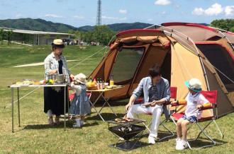 三条の自然を満喫できるキャンプ体験