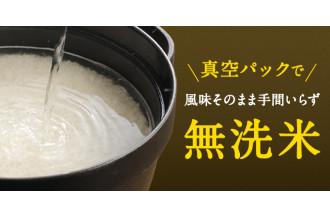 真空パック状態の無洗米