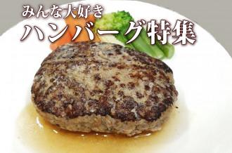 民大好きハンバーグ特集 山形県産牛肉ハンバーグの画像