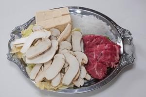 松茸のすき焼きセット